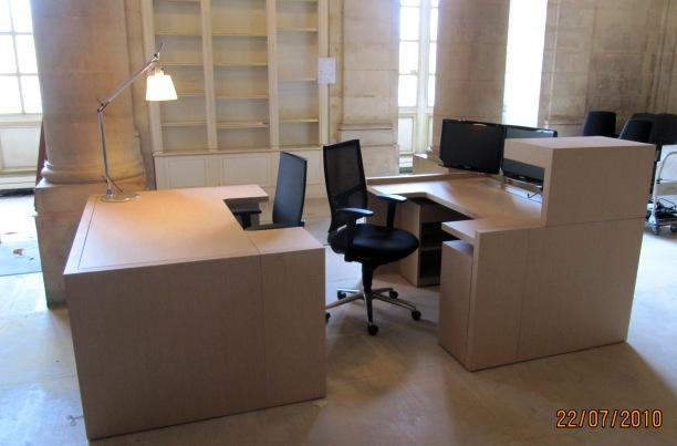 Bureau ergonomique sur mesure