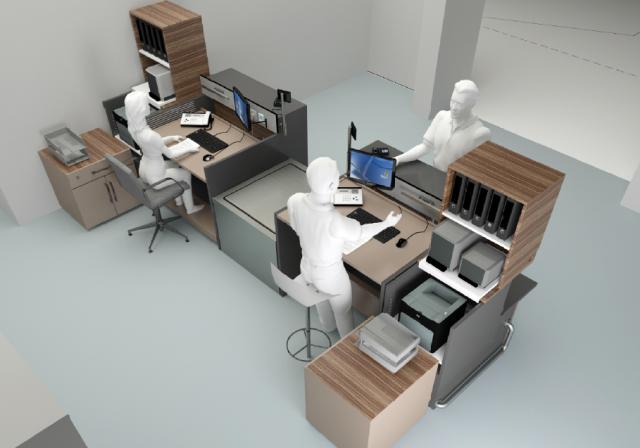 Exemple d 39 ergonomie de conception mobilier sur mesure for Meuble bureau 3d